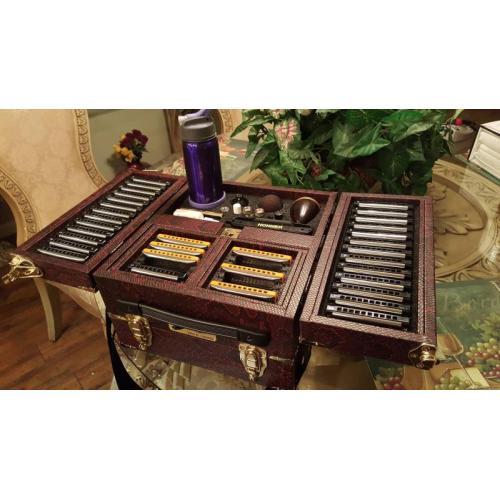 "Customer image:<br/>""Harmonica Case"""