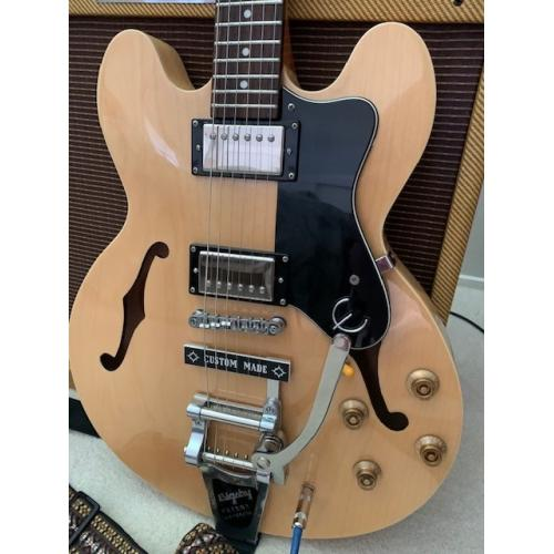"Customer image:<br/>""Epiphone Dot with Bigsby B7"""