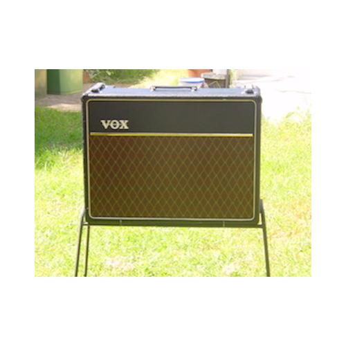 "Customer image:<br/>""The finishing touch to my 64 Vox AC30 restoration. All parts, tolex, grille cloth,tubes and caps all from Antique Electronic Supply"""