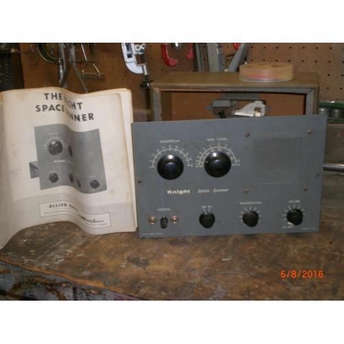 "Customer image:<br/>""new tubes, in an old radio"""