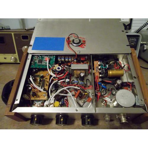"Customer image:<br/>""JJ 12AX7 PREAMP UNDER CHASSIS"""