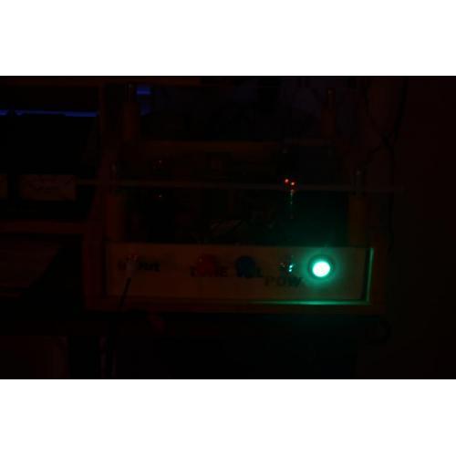 "Customer image:<br/>""A  nice green glow!"""