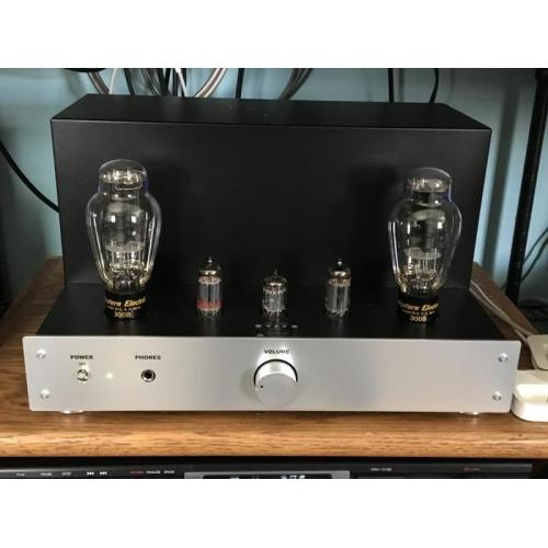 """Customer image:<br/>""""12BH7s were used in place of 12AU7 in this Elekit TU-8600.  The long cathode/plate really brought the music to life."""""""