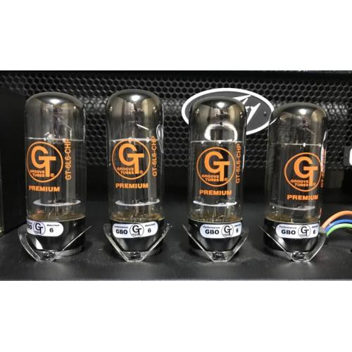 """Customer image:<br/>""""Groove tubes power tubes 6L6 CHP matched power tubes I recently purchased from you for my Peavey 6505+ head """""""