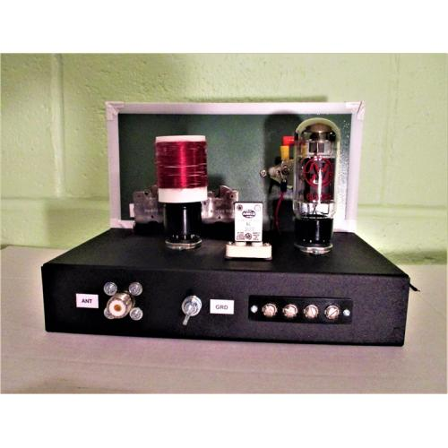 "Customer image:<br/>""6L6 Homebrew CW Transmitter"""