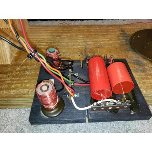 "Customer image:<br/>""Capacitor used in Leslie Crossovers"""