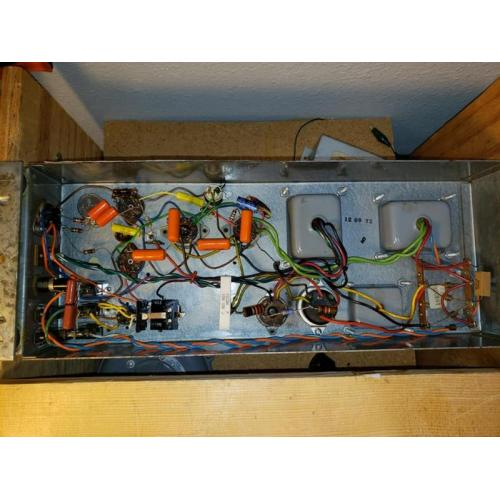 "Customer image:<br/>""Capacitors Used In A Leslie Amplifier"""