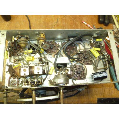 "Customer image:<br/>""Recapped Detrola 321 Chassis"""
