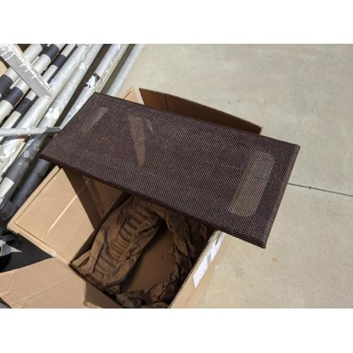 """Customer image:<br/>""""Speaker Grill Cloth Replacement"""""""