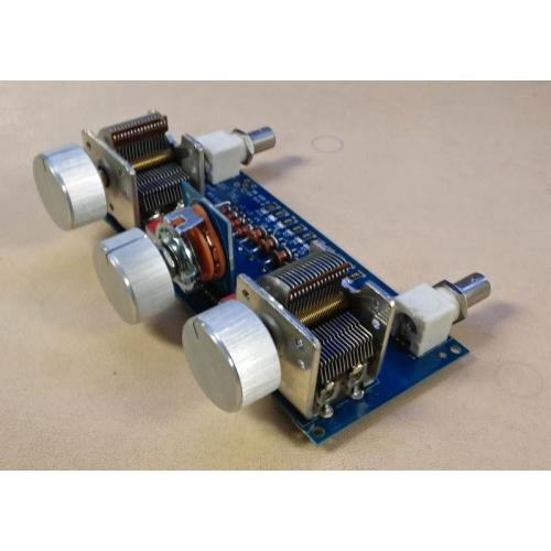 "Customer image:<br/>""HF 80m-6m Antenna Tuner Using 2 Air Variables"""