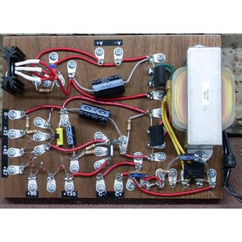 """Customer image:<br/>""""finished power supply"""""""