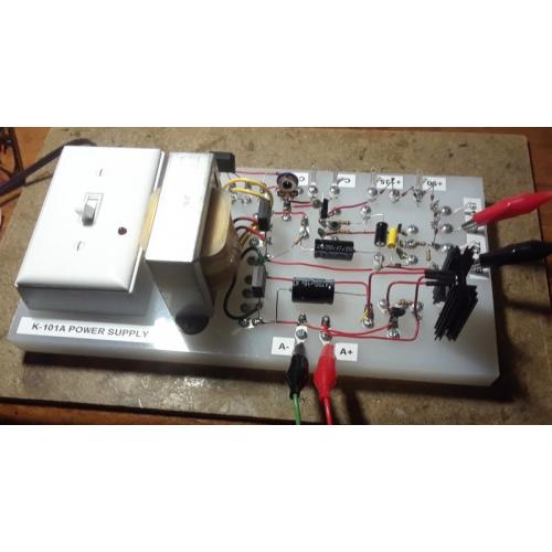 "Customer image:<br/>""K-101A Power Supply"""