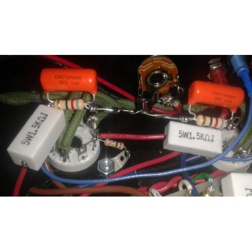 "Customer image:<br/>""Added a K-SNUB2 kit to my MOD 101 amp."""