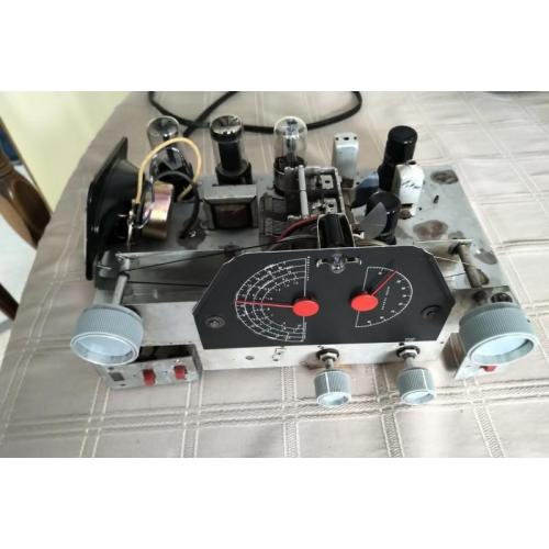 """Customer image:<br/>""""Refurbishing a Hallicrafters S38-D, main dial cord replacement."""""""