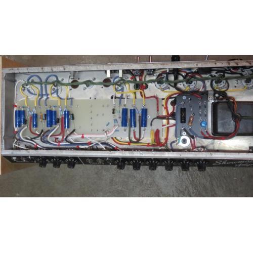 "Customer image:<br/>""Rebuilt Showman amp with vinatge wire."""