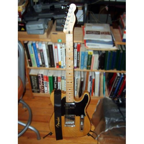 "Customer image:<br/>""Fender Telecaster and Strap"""