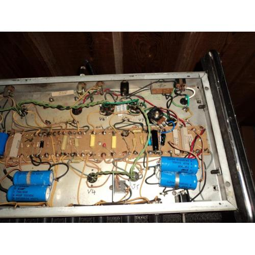 """Customer image:<br/>""""recapping an old traynor """""""