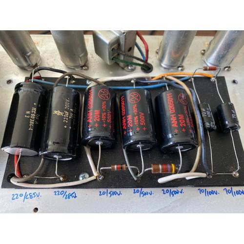 """Customer image:<br/>""""Mighty Twin Power Capacitor Replacement"""""""
