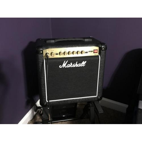 """Customer image:<br/>""""Marshall JVM 1C Grill Cloth Replacement """""""