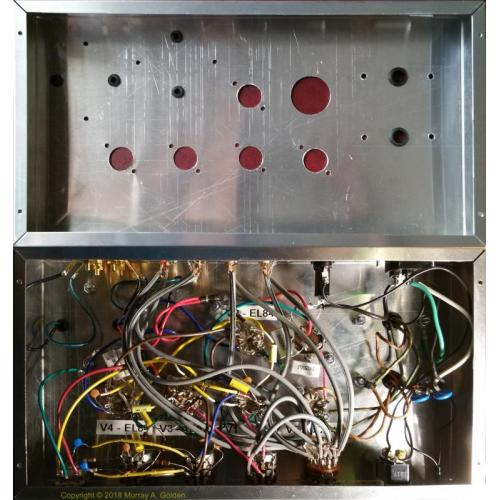 """Customer image:<br/>""""MAGnetics Amplifier - Before & After Wiring"""""""