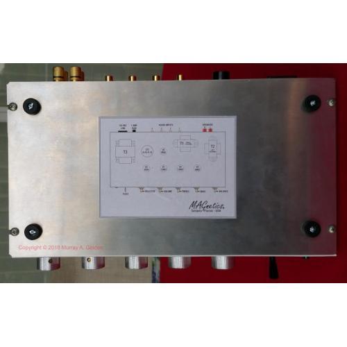 "Customer image:<br/>""MAGnetics Amplifier - Tube Layout"""