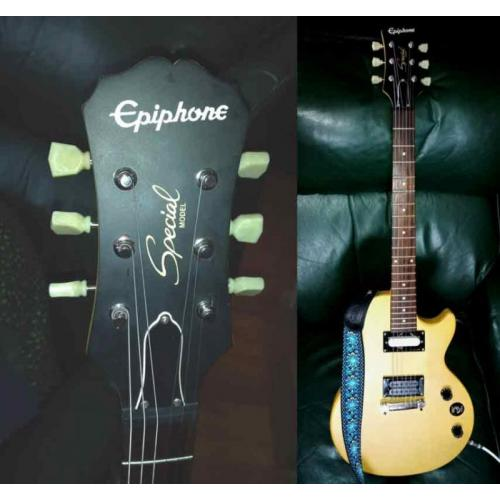 """Customer image:<br/>""""These great tuners on my modded Epiphone!"""""""