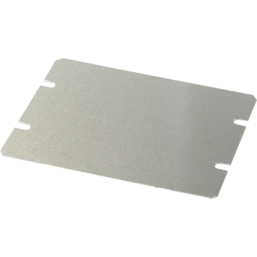 "Cover Plate - Hammond, Aluminum, 4.5"" x 3.5"" image 1"