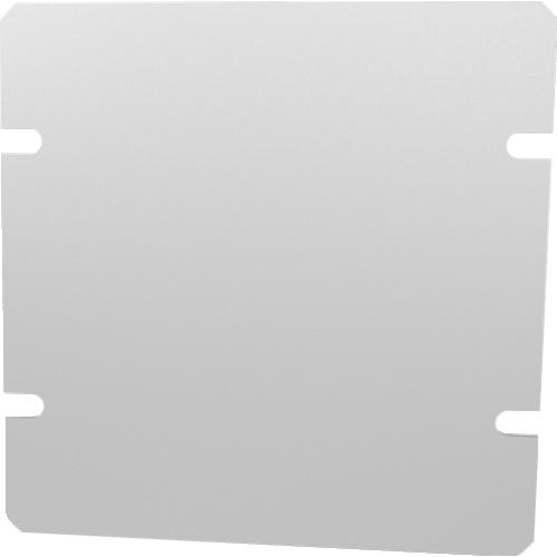 "Cover Plate - Hammond, Aluminum, 4"" x 4"" image 1"