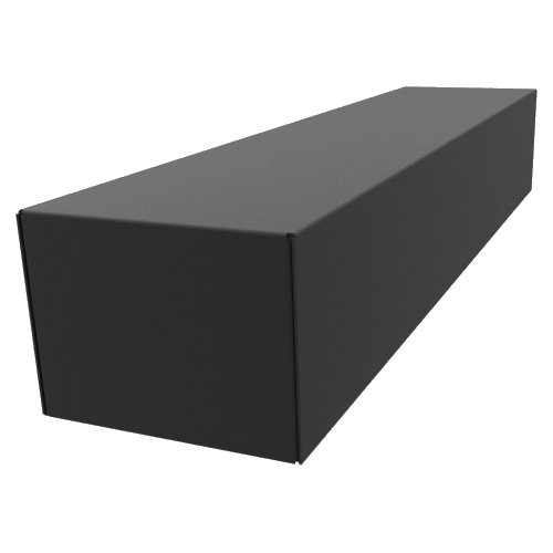 "Chassis Box - Hammond, Steel, 17"" x 4"" x 3"", Black image 1"