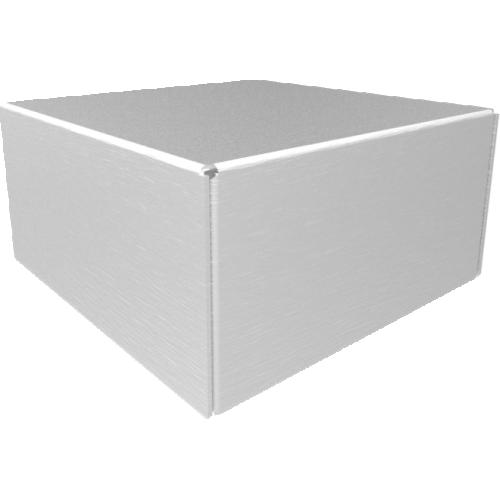 "Chassis Box - Hammond, Aluminum, 4"" x 4"" x 2""  image 1"