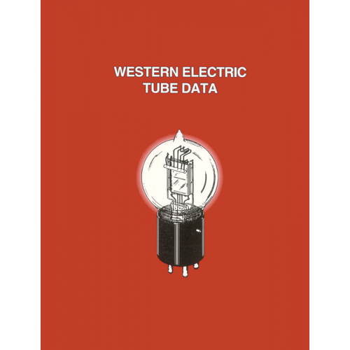 Western Electric Tube Data, 2nd Edition image 1