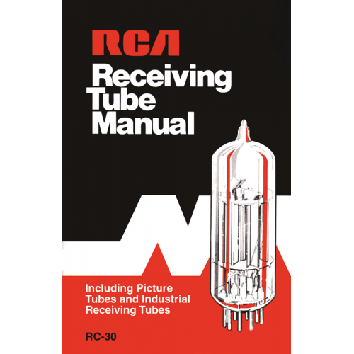 RCA Receiving Tube Manual (RC-30) image 1