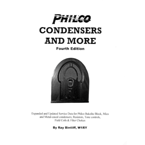 Philco Condensers and More, 4th Edition image 1
