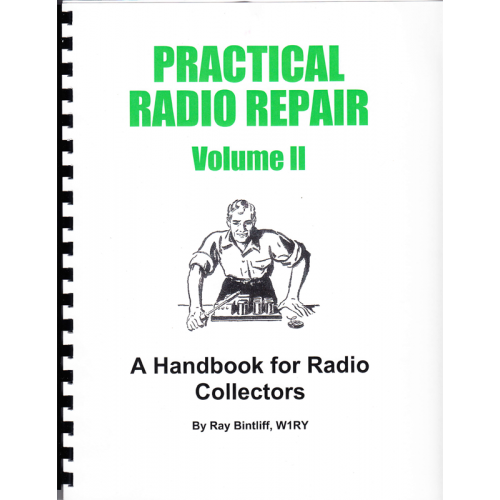 Practical Radio Repair, Volume II by Ray Bintliff image 1
