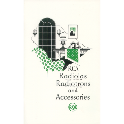 RCA Radiolas, Radiotrons and Accessories image 1