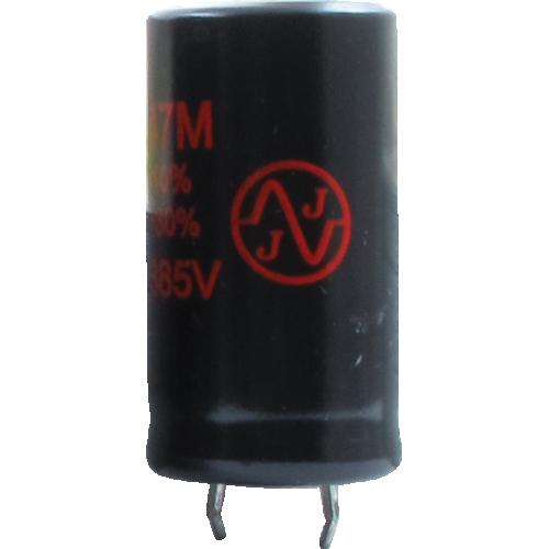Capacitor - JJ Electronics, 385V, 47µF, Electrolytic image 1
