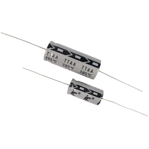 Capacitor - Illinois, 350V, Axial Lead Electrolytic image 1