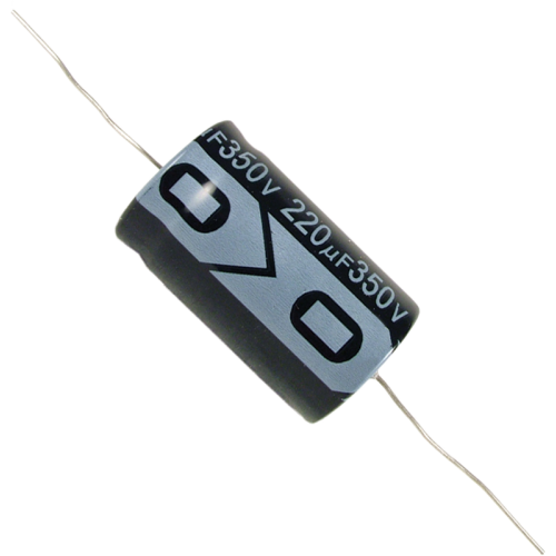 Capacitor - Electrolytic, 220 µF @ 350 VDC image 1