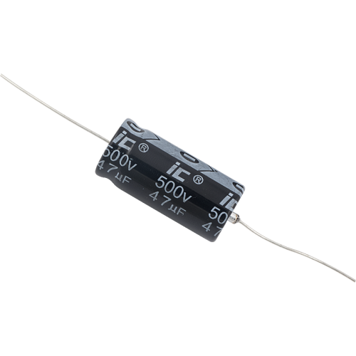 Capacitor - Illinois, 500V, 47µF, Axial Lead Electrolytic image 1