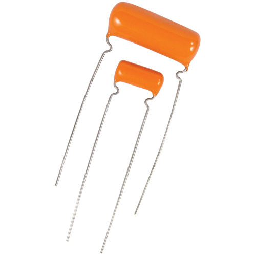 Capacitors - Orange Drop, 600V, Polyester image 1