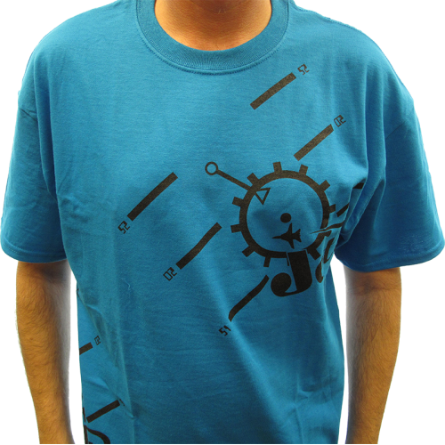 Shirt - Sapphire Blue with Jensen Jets Logo image 2