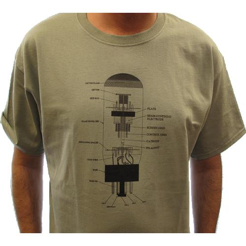 Shirt - Stonewash Green with 6L6 Diagram image 2