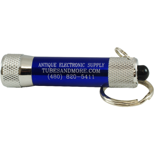 Flashlight - Antique Electronic Supply, Blue image 1