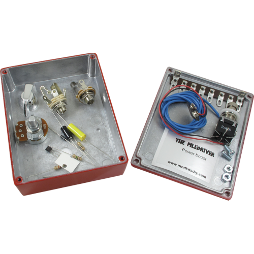 The Piledriver, Power Boost Effects Pedal Kit image 3