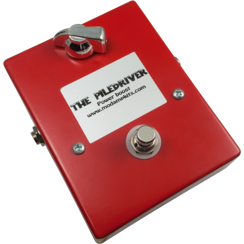 The Piledriver, Power Boost Effects Pedal Kit image 1