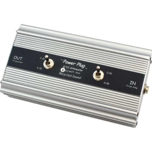 Attenuator - Recycled Sound, Power Plug 6 / 12, -6dB or -12dB image 1