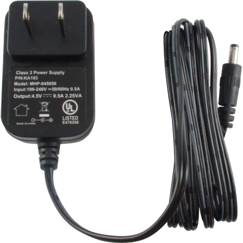 Power Supply - 4.5V, 500mA, Center Positive, for Korg PX4, PXR4 image 1