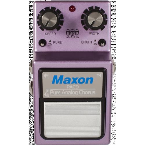 Effects Pedal - Maxon, PAC9, Pure Analog Chorus image 2