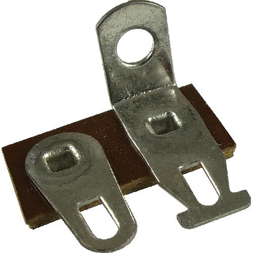 Terminal Strip - 2 Lug, 1st Lug Common, Horizontal, package of 5 image 1