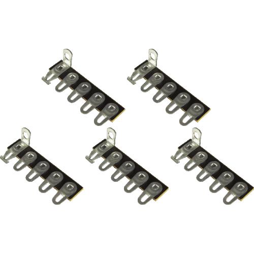 Terminal Strip - 5 Lug, 5th Lug Common, Horizontal, package of 5 image 1